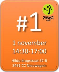 Zumba marathon Nieuwegein 1 november