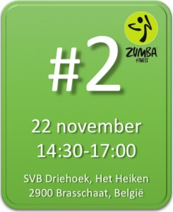 Zumba marathon Brasschaat 22 november