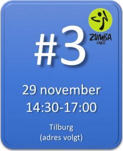 Zumba marathon Tilburg 29 november